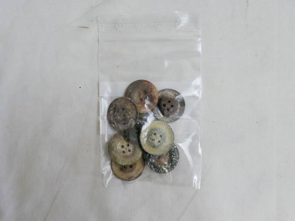 Wehrmacht Luftwaffe Uniform Buttons Tent Track Buttons Buttons 10 pieces 22 mm diameter
