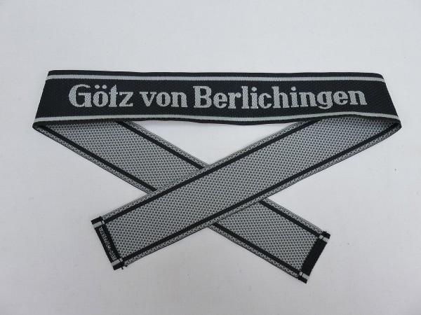 Wehrmacht Elite BEVO Sleeve Band Waffen SS Division GÖTZ VON BERLICHINGEN Sleeve Stripes