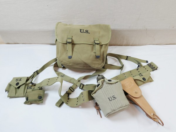 US Army Storm Luggage extensive belt kit set