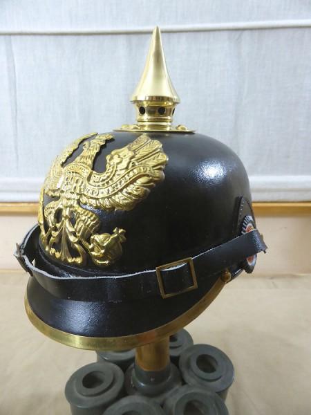 WK1 helmet pickle hood Prussia teams Spiked Helmet Prussian