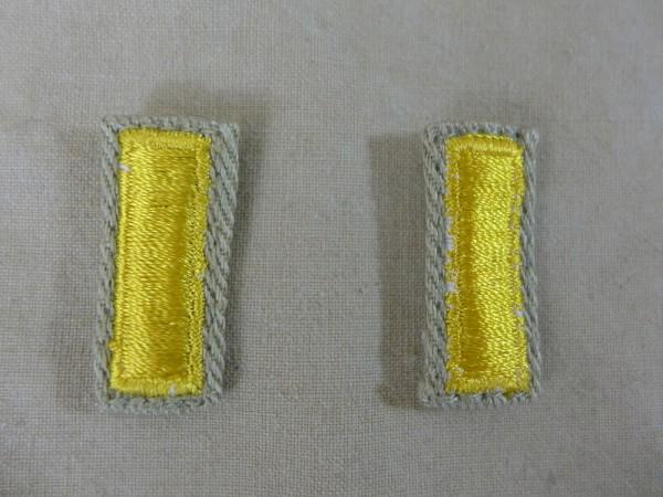 US ARMY WW2 Ranks 2nd Lieutenant Officer Rank badges badges lieutenant officer badge