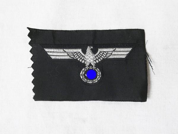 Wehrmacht tank cap badge officer cap eagle shuttle field cap woven