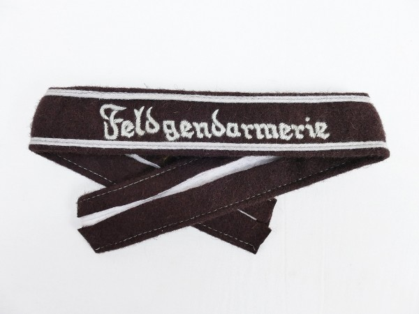 Wehrmacht sleeve band Feldgendarmerie / for enlisted men + non-commissioned officers