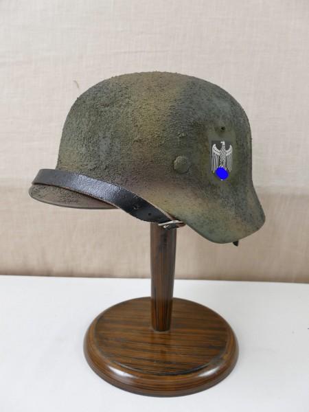 Wehrmacht Camouflage Steel Helmet SD Rauhtarn 3color camouflage M35 M40 M42 Size 57/58 camouflage