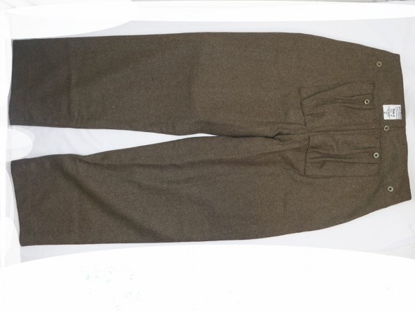 Paratrooper trousers British Army WW2 reproduction / paratrooper trousers british