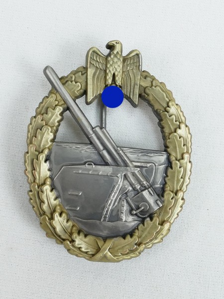 Navy War Badge Naval Artillery