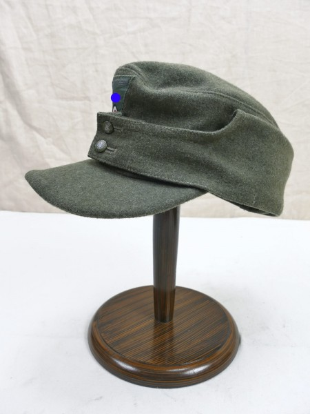 Wehrmacht M43 field cap size 60 Baschlik cap M1943 with trapezoid eagle from museum