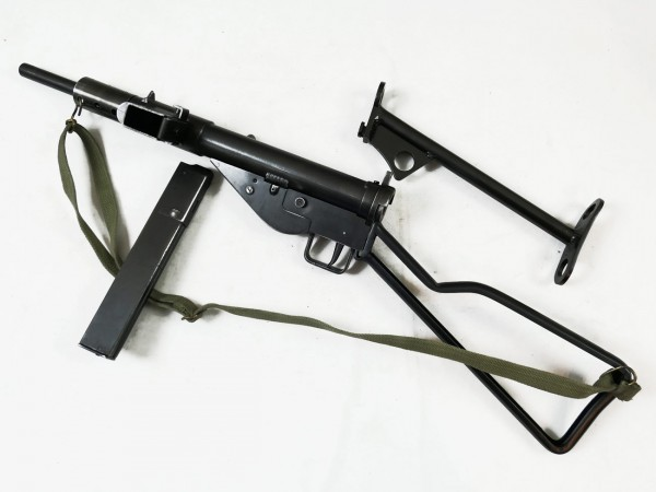 Sten MP MKII submachine gun deco model movie gun with 2 shoulder rests Denix