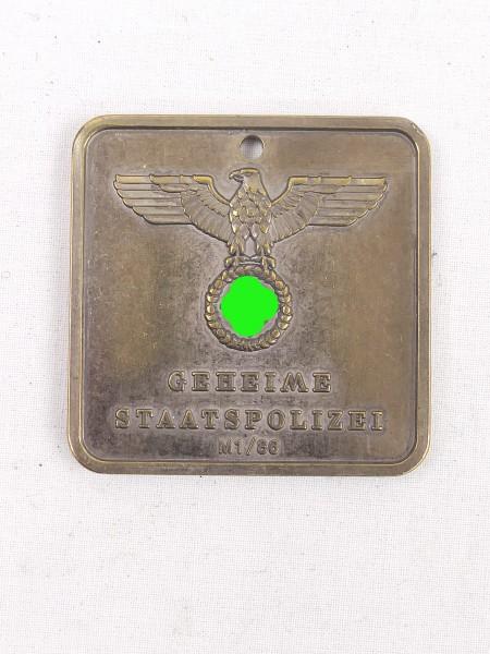 Badge Gestapo Secret State Police 583