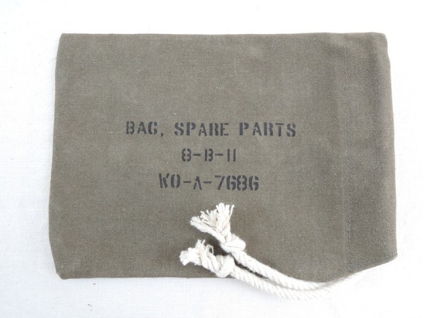 US Army Tool Spare Parts Bag Bag for accessories Jeep or Ford GPW
