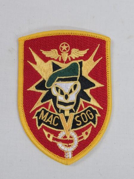 US ARMY Vietnam sleeve badge patch Mac V Sog
