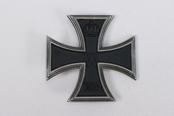 WK1 Iron Cross 1st Class 1914 EK1 with pin