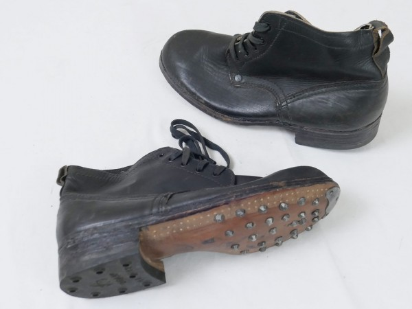 Type Wehrmacht Weapons Elite laced shoes boots half shoes black Gr.41/42