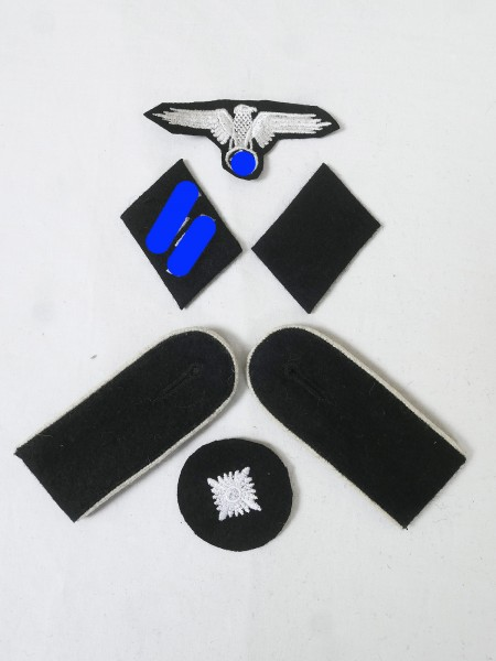 Set of Effects Badges Weapons Elite Shoulderboards Sleeve eagle Collar mirror for a head shooter