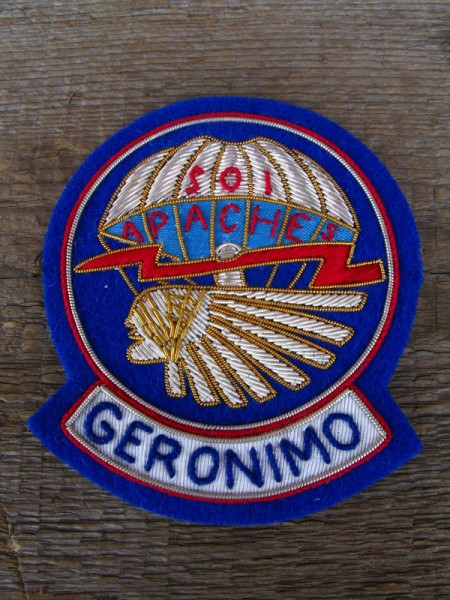Patch Geronimo Airborne Officer