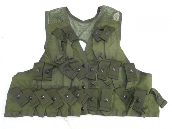 US ARMY Vest Grenade Carrying 1974 Vietnam Vest Tactical Nylon Duck Medium