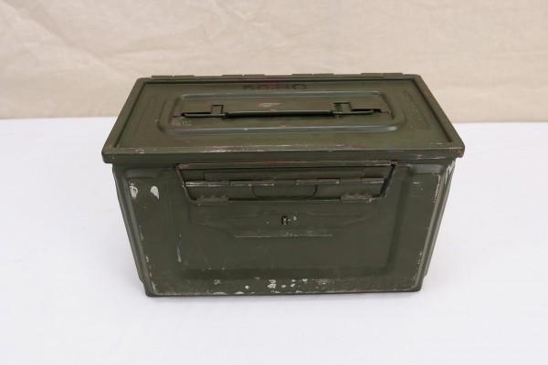 WW2 US Army Ammunition Box CAL. 50 M2 Ammo Box Ammo Metal Box original #1