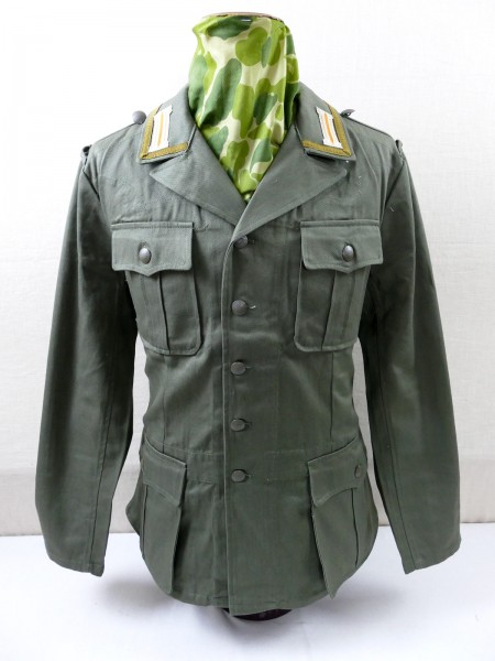 DAK Afrikakorps Field Blouse Tropical Jacket M40 Army NCO with braid and collar panels