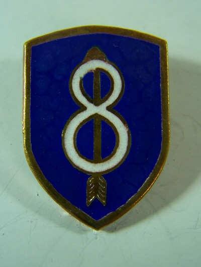 8th Div. Unit Crest