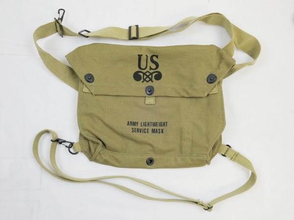 US Army WW2 Gas Mask Bag Gas Mask Bag Lightweight Service Mask Bag