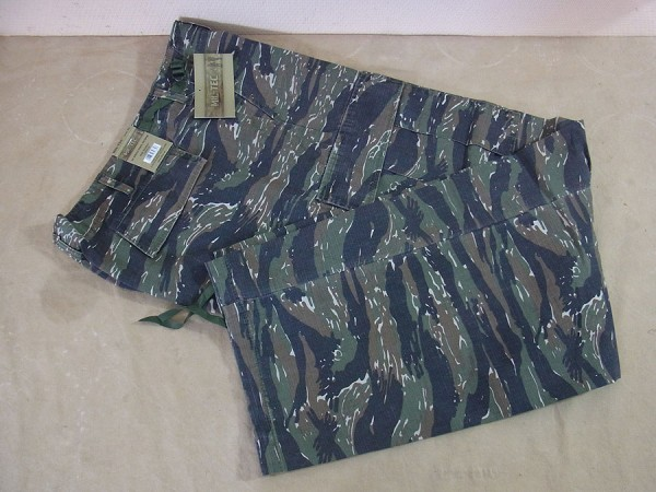 US Army Field Pants Jungle Pants M64 Vietnam Tiger Stripe