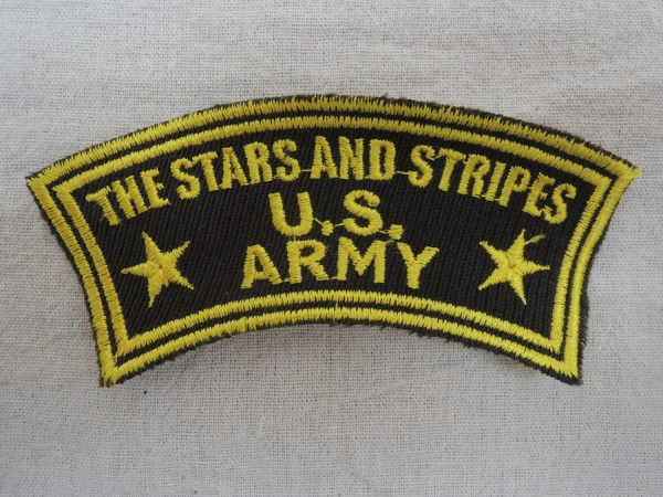 US Army Badge THE STARS AND STRIPES U.S. ARMY