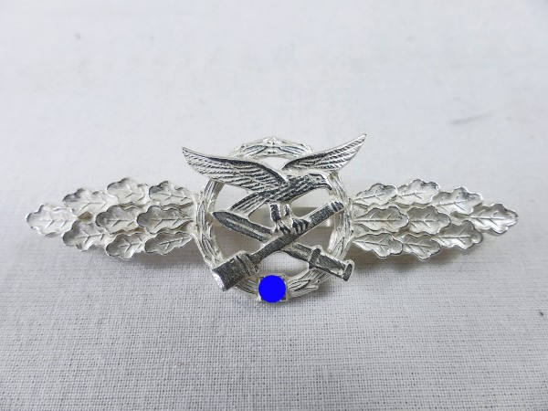 Close combat clasp of the air force silver