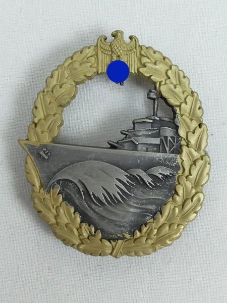Kriegsmarine Destroyer War Badge Navy
