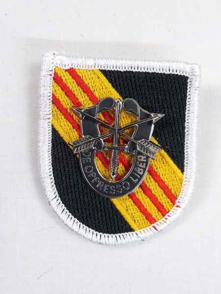 US ARMY SPECIAL FORCES Fabric Badge Patch with Metal Badge / PIN