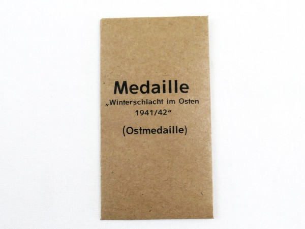 Awarded medal bag winter battle in the east 1941/42 / east medal (418)