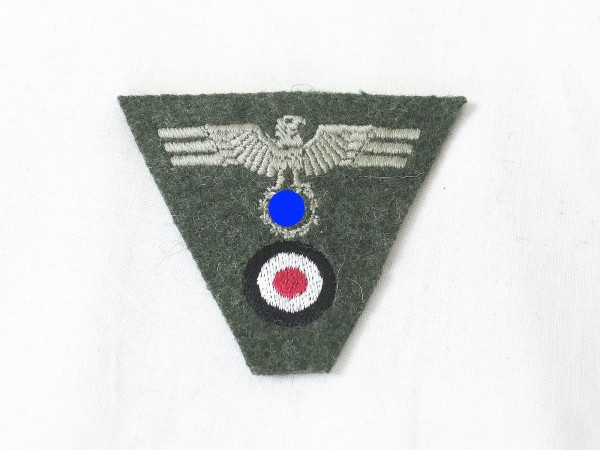 Wehrmacht Army Trapeze cap badge M40 embroidered cap eagle field cap