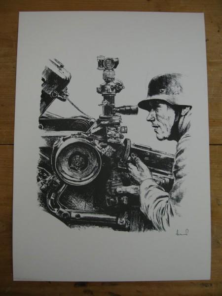 WH art print gunner