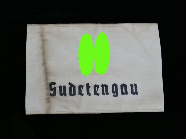 """Armband """" XX Sudetengau """""""