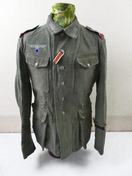 Wehrmacht field blouse M42 uniform FRUNDSBERG from exhibition museum