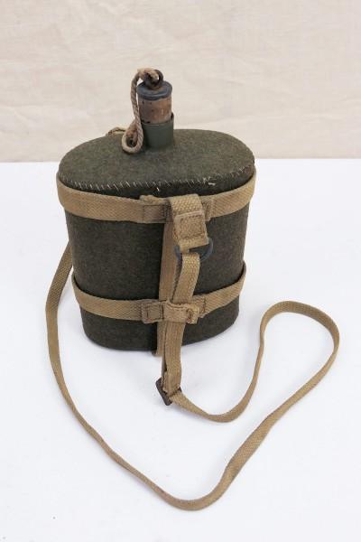 Original WW2 GB Water Bottle Webbing Strapping British Army 1944