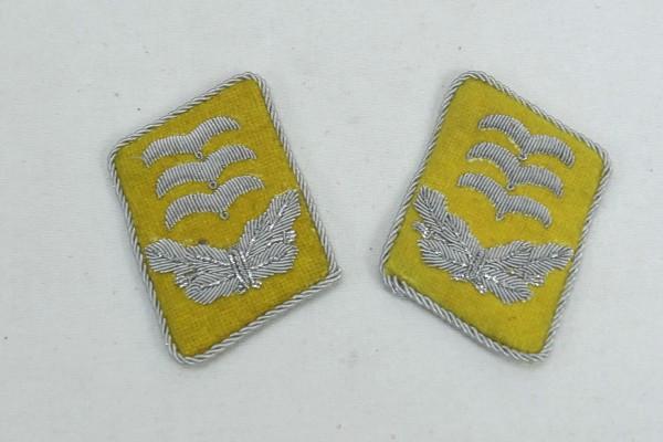 WW2 Luftwaffe Collar Mirror Captain LW Paratrooper
