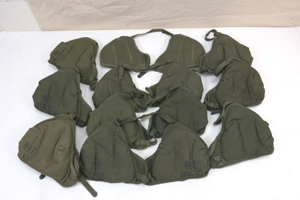 TYPE WWII US Army Shoulder Pad Shoulder Pad M3 Mortar 60mm M2 Thrower 1x pair