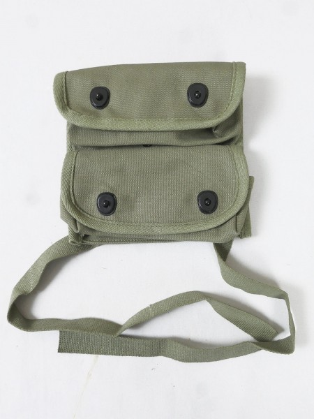 US ARMY WW2 double grenade bag Carrier grenade, 2-pocket bag grenade