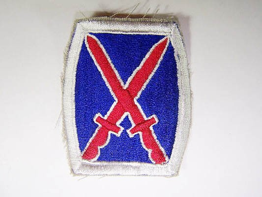 US Army 10th Infantry Division