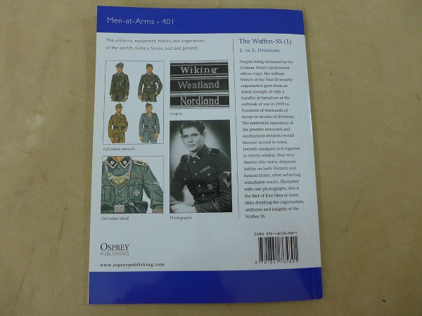 Osprey Men-at-Arms / The Waffen SS (1) - 1. to 5. Divisions