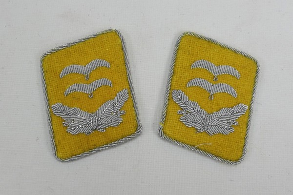 WW2 Luftwaffe Collar Mirror First Lieutenant LW Paratrooper