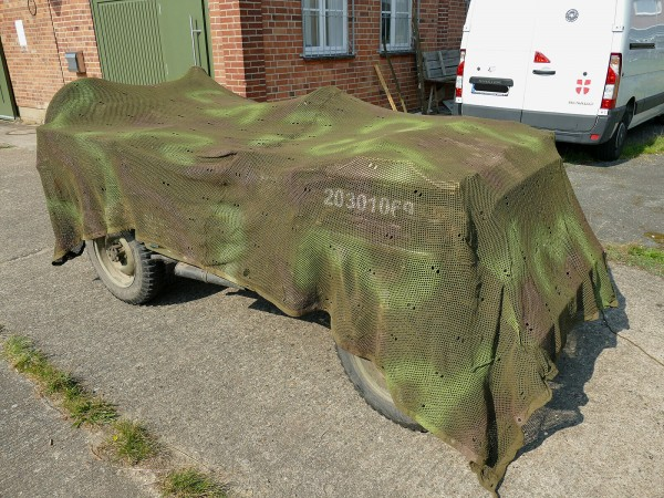 4.0x3.3m Camouflage Net Camouflage Net US Willys Jeep / Hunting Seat High Seat