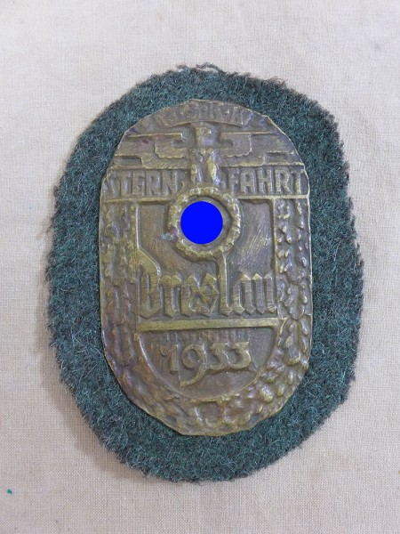 Sleeve Shield NSKK Rally Wroclaw 1933