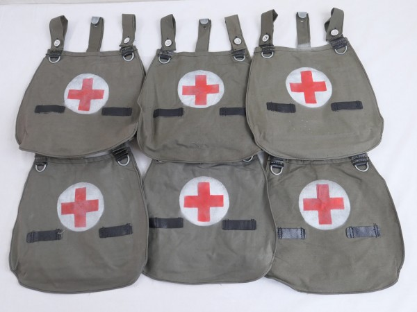 type Wehrmacht paramedic bread bag red cross paramedic bag
