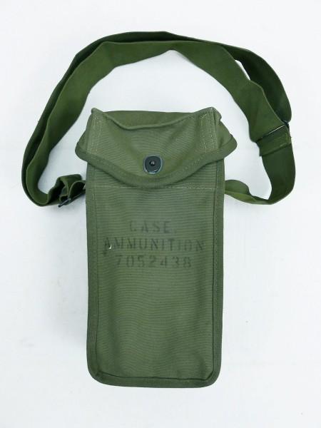 U.S. Army Korea Vietnam Ammunition / Magazine Case Ammunition with Carrying Strap MINT