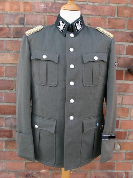 Gabardine Rock Example of an Elite Uniform after a Template / Screenplay / Film Props