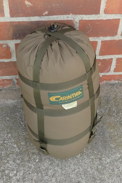 CARINTHIA Mummy Sleeping Bag olive TROPEN 200 Survival with mosquito net