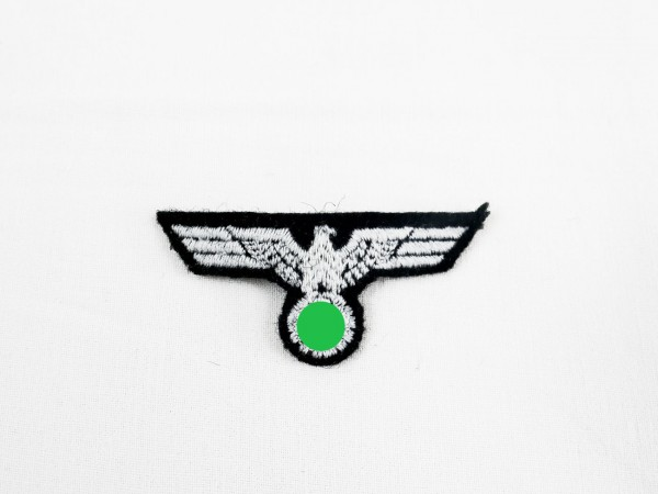 Wehrmacht cap eagle for shuttle tank troop embroidered design for crews