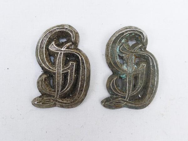 Wehrmacht Großdeutschland GD Shoulder piece pads / pads for epaulettes