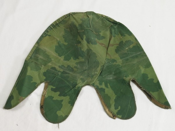 US Army Mitchell Helmet Cover Leaf Pattern Reverseable M1 Helmet Cover Vietnam